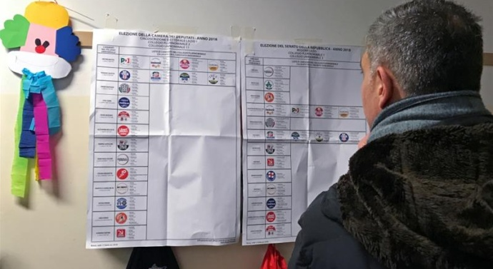 Italy elections: Preliminary vote count points to hung parliament