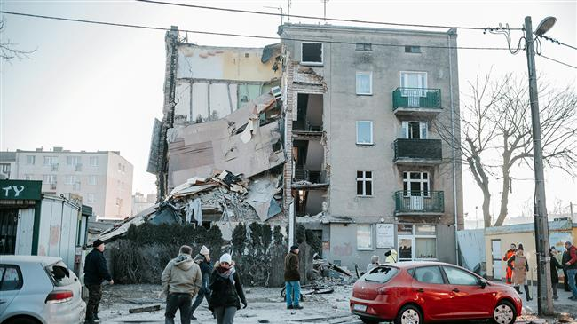 4 killed, 24 injured in Poland apartment building collapse