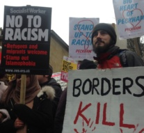 """We are sick of it"": Thousands protest racism' in London"