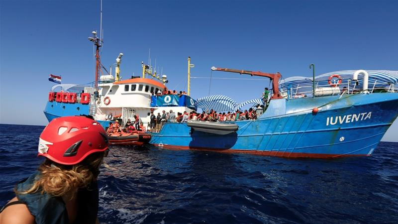 Italian court rules Iuventa rescue vessel will remain impounded