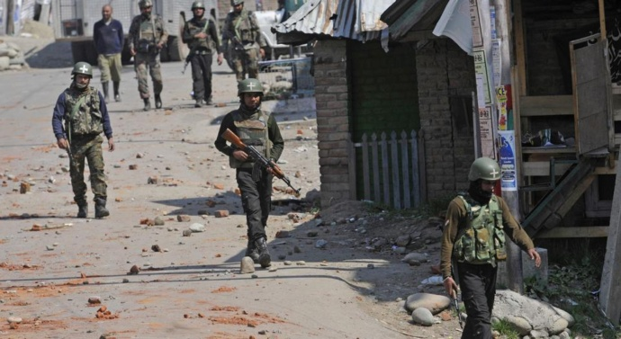Kashmir: Three army soldiers, 12 militants killed in separate encounters