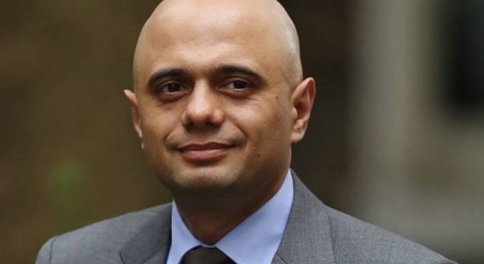 May appoints British-Pakistani as new home secretary