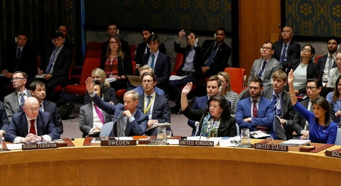 UN Security Council rejects Russian resolution condemning 'aggression' against Syria