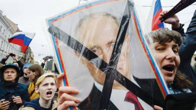 EU, rights activists outraged over police brutality in Russia