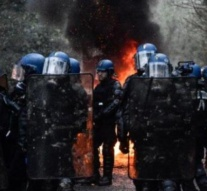 Tear gas as French police launch new assault on protest camp