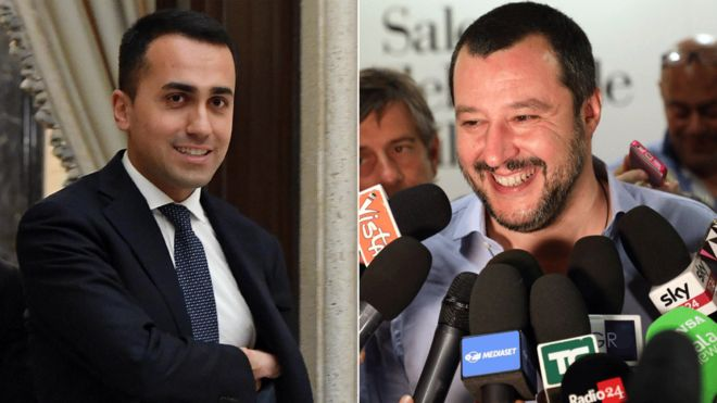 Italy's populist leaders close to government deal