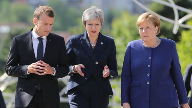 Theresa May security pledge at EU summit