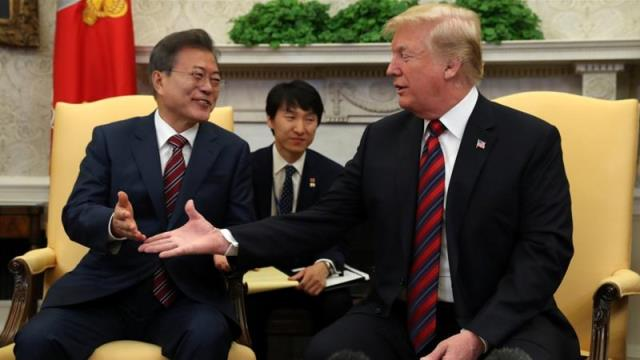 Trump: 'Substantial chance' summit with Kim will not go ahead