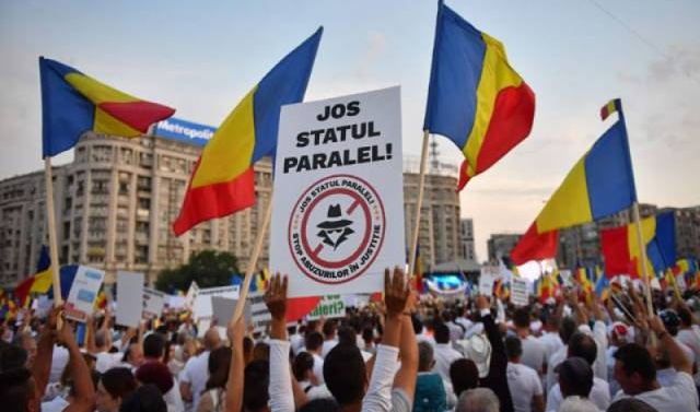 Govt-backed mass rally in Romania against judiciary