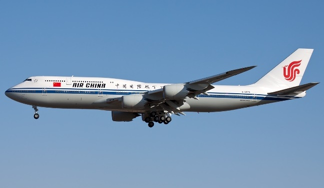 Air China punished, fined $7,462 after smoking pilot causes plane to plunge
