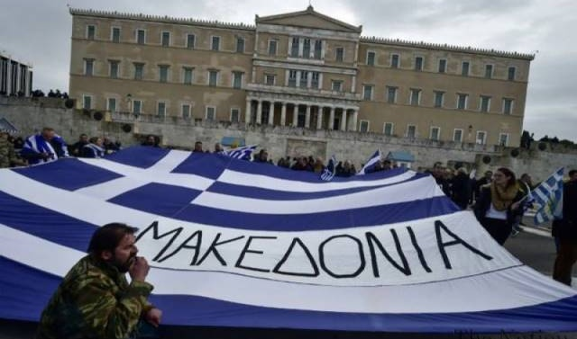 Greeks reject Macedonia name deal in poll