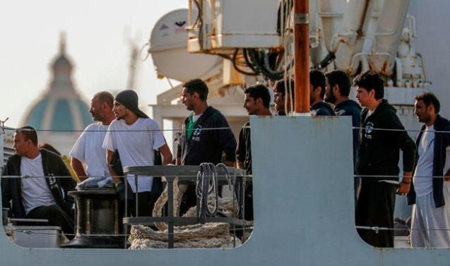 Italian president intervenes in migrant stand-off, angering Salvini