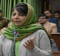 Kashmir: Mehbooba 'amused' by speculations of PDP-Congress alliance