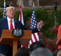 Trump and May tout 'special relationship' in joint press conference
