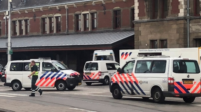 Two injured in stabbing at Amsterdam railway station, attacker shot:Dutch Police