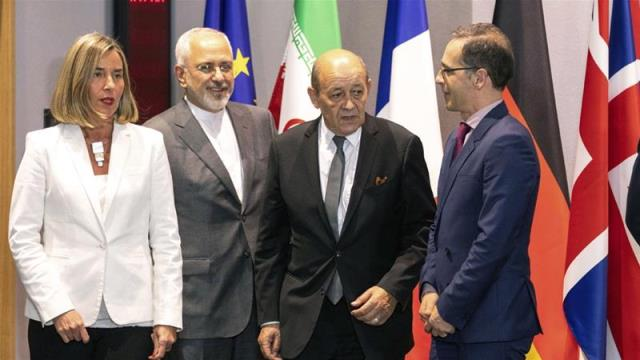 Europe vows to preserve Iran deal as US sanctions return