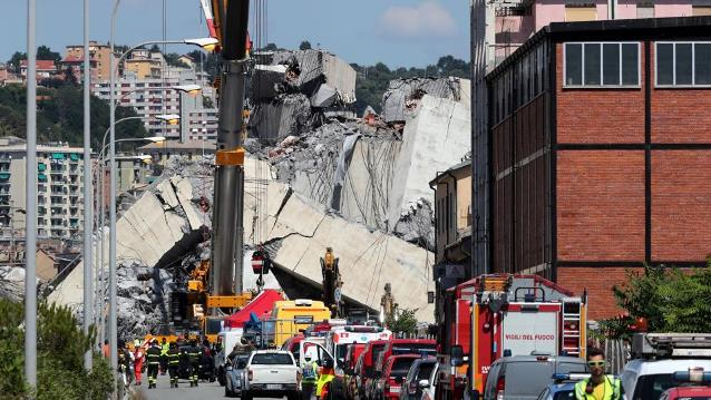 Italy government demands resignations as death toll in Genoa bridge collapse rises to 39