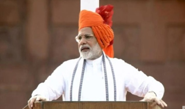 Kashmir problem cannot be resolved with bullets: Modi in I-day speech