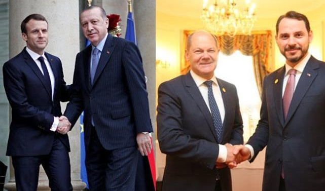 Turkey talk to France, Germany as diplomatic offensive continues