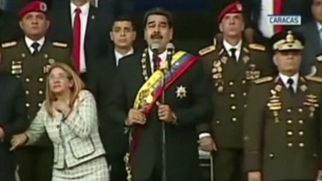 Venezuela President Maduro survives 'drone assassination attempt'