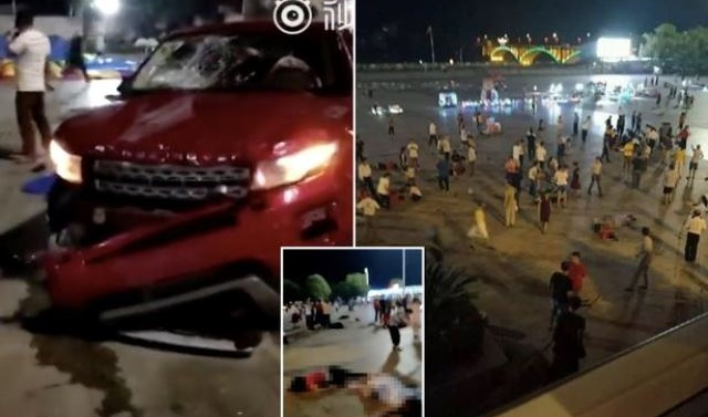 China: Car rams into Hunan square killing nine