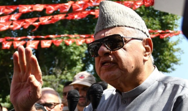People with vested interests in India, Pak don't want peace in Kashmir: Farooq Abdullah