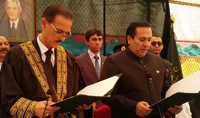 Kashmir: Raja Maqpoon takes oath as 6th Gilgit Baltistan governor
