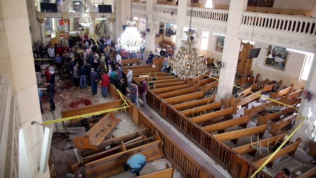 17 sentenced to death in Egypt for attack on church