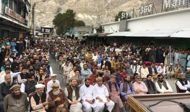 Kashmir: Protest in Gilgit Baltistan for fundamental, constitutional rights