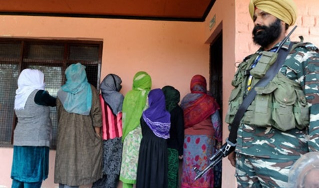 76 per cent voting in Jammu, 3 per cent in Kashmir's Municipal Polls