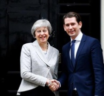 Austria's chancellor in London for Brexit talks with British PM