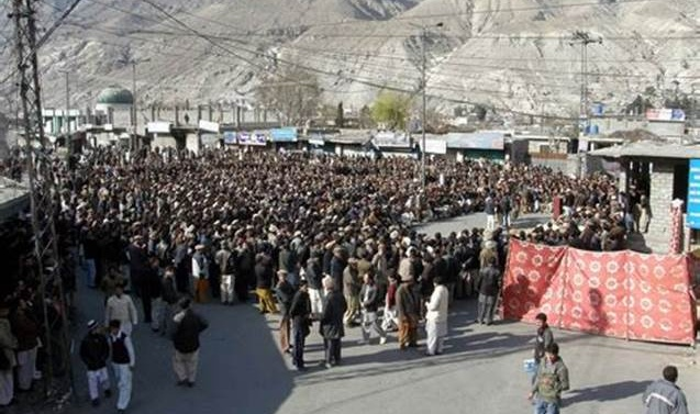 Kashmir: Awami Action Committee rejected the decision of proposed interim province for Gilgit Baltistan