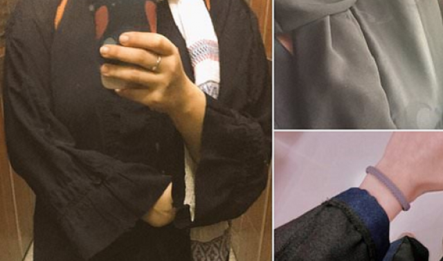 Saudi women mount 'inside-out' abaya protest