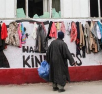 Kashmir's 'Wall of Kindness' brings warmth during harsh winter