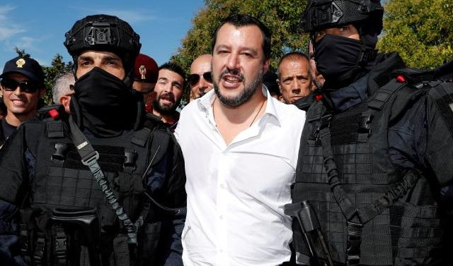 Italy's Salvini clashes with judge over premature tweet