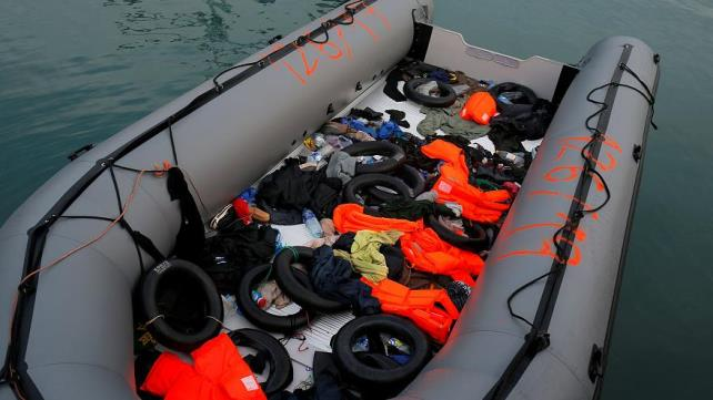 117 migrants missing after dinghy spotted sinking in Mediterranean: IOM