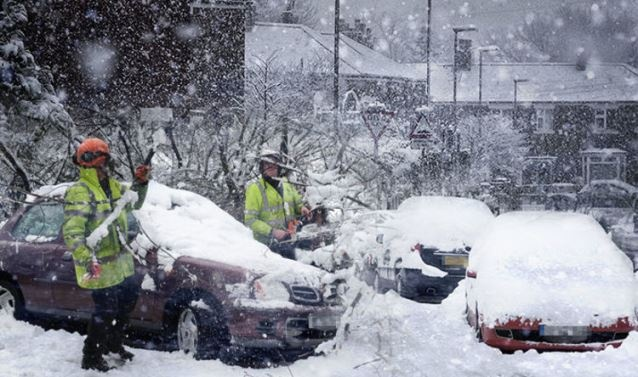 Winter storm blasts Europe, 13 dead amid heavy snow