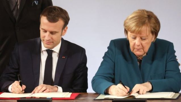 France and Germany seal new deal as Brexit looms