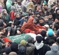 Thousands attend last rites of militants in Baramulla amid shutdown, restrictions