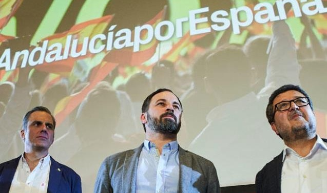 In post-Franco first for Spain, far-right party becomes kingmaker in Andalusia