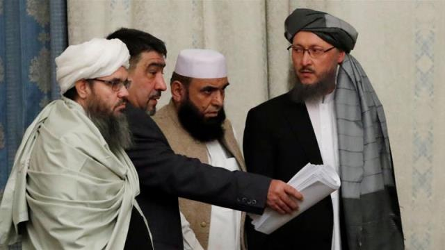 Afghan Taliban cancel peace talks with US officials in Qatar