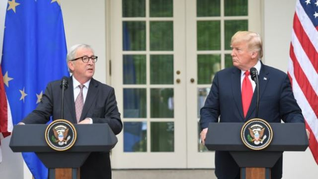 US downgrades EU diplomatic status in Washington