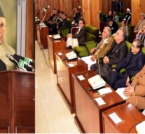 Pakistan's President addresses AJK Assembly demands India to release political prisoners in IoK