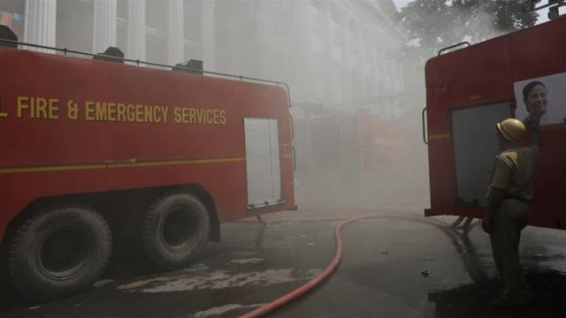Fire at New Delhi hotel kills at least 17: officials