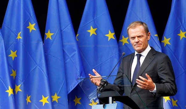EU chief Donald Tusk says 'special place in hell for those who promoted Brexit without a plan'