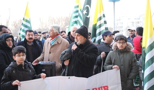 Kashmir solidarity day held in Vienna on 5th February