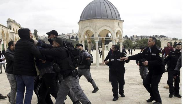 Palestinians pray in long-closed part of Al-Aqsa in Jerusalem