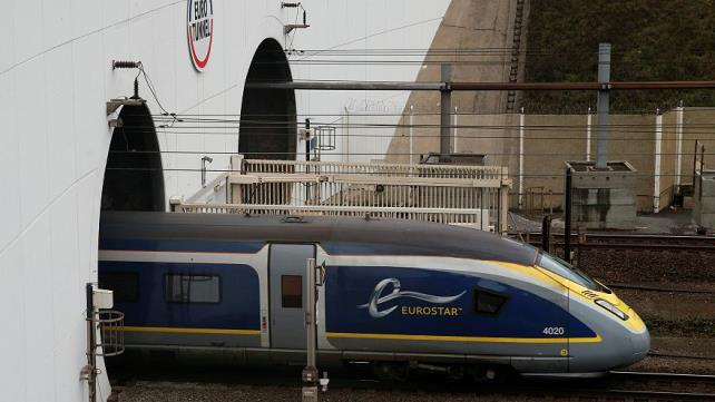 Eurostar trains hit by severe delays as French customs officers continue Brexit protest