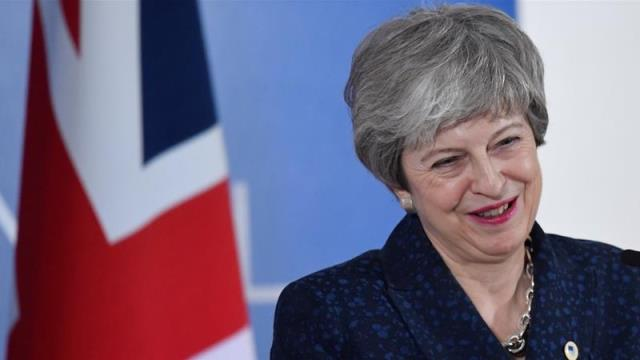 Theresa May gets two-week Brexit reprieve from EU