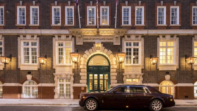 Indian billionaire turns Scotland Yard building into luxury hotel